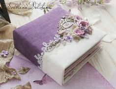 Scrapbook Cover, Mini Scrapbook Albums, Wedding Scrapbook, Wedding Photo Albums, Wedding Album, Wedding Cards, Photo Album Covers, Baby Girl Clipart, Personalized Wedding Guest Book