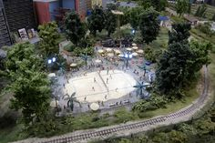 Volleyball diorama by quinet, via Flickr