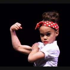 Asia Monet Ray. You had muscles like that at seven years old, right?
