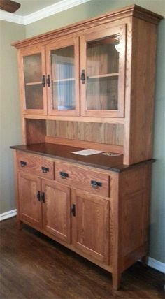 Hello, I just wanted to let you know the hutch I ordered has arrived at long last and it's BEAUTIFUL! Exactly what I had hoped for. I couldn't be more pleased. Thank you very much Sincerely, Virginia H.  Virginia H. CA ,   9/20/2013
