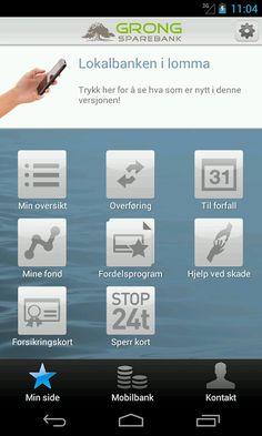 Lokalbanken i lomma<p>Appen gir deg saldo, siste transaksjoner, overføring mellom egne konti og betalinger til forfall. Du kan også se saldo og siste transaksjoner for dine kredittkort. Som forsikringskunde kan du lagre forsikringskort for reiseforsikring og veihjelp i appen. <br>Du velger om appen skal være på nynorsk eller bokmål. <p>Lesebrett<br>Appen kan også brukes med lesebrett. Du må da ha mobiltelefonen du har registrert i nettbanken tilgjengelig ved aktivering av appen.<p>Betale…