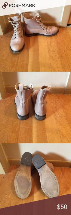 STEVEN MADDEN BOOTS Size 7 GREAT FOR FALL. Wore once or twice! Steve Madden Shoes Combat & Moto Boots