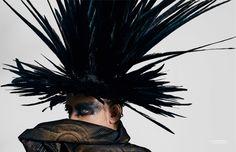 Boy George + Jean Paul Gaultier for ZOO Magazine