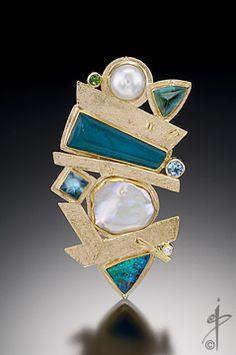 Secret Life of Jewelry - A Universe of Handcrafted Art to Wear: Isabelle Posillico Jewelry