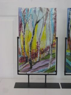 3rd Fused Glass Award by Alice Benvie Gebhart
