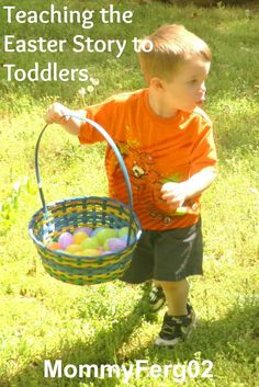 My Personal Experience with Teaching the Easter Story to a Toddler