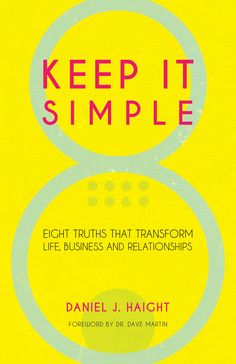 Go to the Haights' church to learn more about their ministry or to order his new book. Daniel J, Television Program, Keep It Simple, New Books, Relationship, Learning, Ministry, Life, Studying