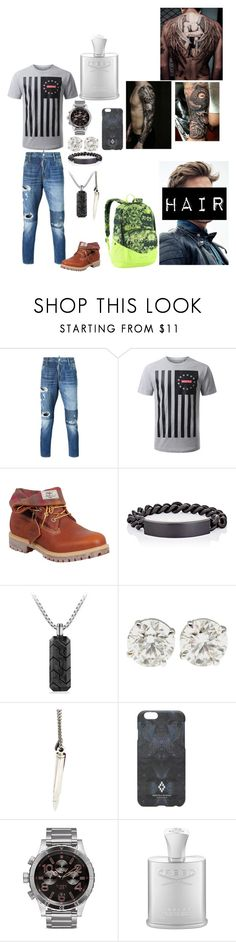 """I'm gonna start grinding"" by nstreet ❤ liked on Polyvore featuring Dsquared2, Timberland, Maison Margiela, David Yurman, MIANSAI, Marcelo Burlon, Nixon, The North Face, men's fashion and menswear"