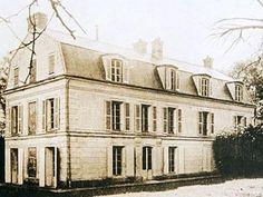 Le Petit Bourg palacio cercano a Paris propiedad del marqués de las Marismas del Guadalquivir.