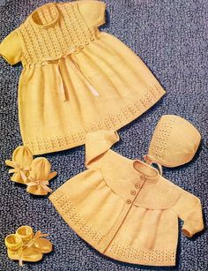 Ravelry: Baby Set pattern by Emu Wools Ltd
