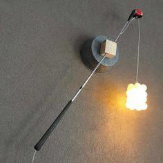 PENFOLD 3: golf club wall lamp by Gilbert de Rooij – upcycleDZINE