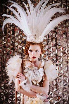 High fashion photography, dramatic photography Circus Circus www.laurahensonphotography.com