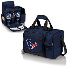 Houston Texans Digital Print Malibu Picnic Tote Navy