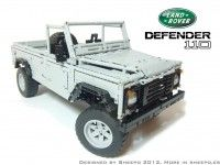 Land Rover Defender 110 makes 10k on Lego CUUSOO