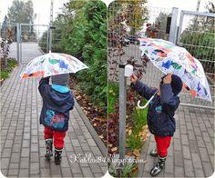 Oczekując Maleństwa: Spacer po deszczu, dla M