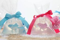 Μπομπονιέρα Βάπτισης (Soap Tales) σαπουνάκι ψαράκι μέσα σε σακούλα ροζ και σιέλ Baby Party, Gift Wrapping, Children, Cake, Gifts, Party Ideas, Style, Gift Wrapping Paper, Young Children