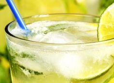 Suco de limão com berinjela