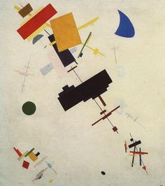 Suprematism by Kazimir Malevich (1916)