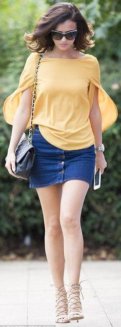 15 Mulheres Famosas de Jeans - MODA
