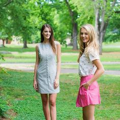 Sporting these two ensembles from will be a hit at any summer soiree you find yourself attending! Nice Dresses, Girls Dresses, Southern Proper, Ordinary Girls, Preppy Men, Full Length Skirts, Straight Skirt, Preppy Outfits, How To Look Pretty