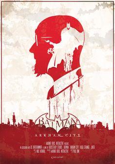 Batman - Arkham City version affiche de cinéma