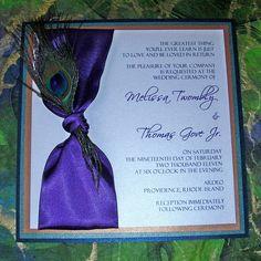 Peacock Wedding Invitations | peacock wedding invitations pictures