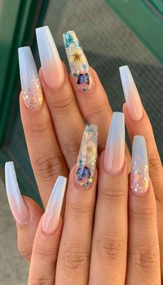 130 Top Awesome Coffin Nails Design 2019 You Must Try Awesome coffin nails are the hottest nails now. We collected 130 of the most popular coffin nails. So you don't have to spend too much energy. It's easy to find your favorite coffin nail design. Perfect Nails, Gorgeous Nails, Pretty Nails, Cute Acrylic Nail Designs, Long Nail Designs, Acrylic Nail Designs Coffin, Flower Nail Designs, Art Designs, Hot Nails