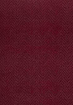 Zenith Velvet #fabric in #cranberry from the Rue De Seine collection. #Thibaut #AnnaFrench