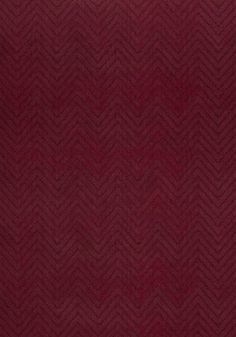 Zenith Velvet #fabric in #cranberry from the Rue De Seine collection. #Thibaut #AnnaFrench