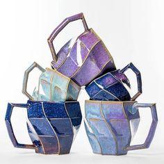 Pottery Mugs, Ceramic Pottery, Slab Pottery, Thrown Pottery, Stars Disney, Paperclay, Cute Mugs, Ceramic Clay, Ceramic Bowls