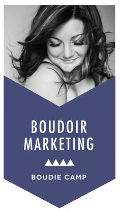 Learn how a boudoir photographer in a city of only 65,800 people, spending little to no money at all on marketing, still consistently books 3-4 of her ideal boudoir clients every week: http://boudiemarketingcamp.com/