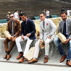 How to lunch like a gentleman . Chicas tomen nota: baaasico