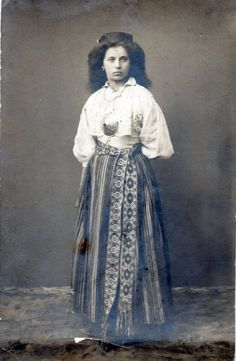 Grandma Ada in Estonian dress