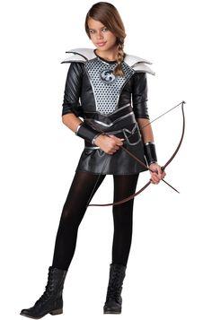 Midnight Huntress Tween Costume #Halloween #costumes