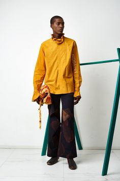 Orange Culture | Ready-to-Wear - Autumn 2017 | Look 4 Europa Art, Imperial Fashion, Autumn 2017, Ready To Wear, Milk, Menswear, Normcore, Women's Fashion, Culture