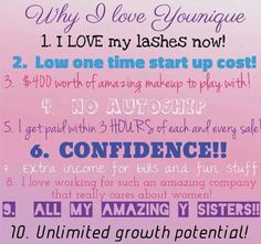 #change your #life #financialindependence #mascara #lashes #loveyourlashes youniqueproducts.com/CarlsonAly/business