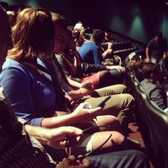 @oncherrystreets photo: DuPree party of 16 3D IMAX viewing of Jurassic Park at #HMNS