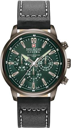 Hanowa Swiss Military HORIZON MULTIFUNCTION 06-4285.30.006 Mens Wristwatch Swiss Made--143.04