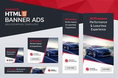 Animated Banner Ad Templates by KingBanners on Html Banner, Banner Template, Web Banner, Web Design, Youtube Channel Art, Web Themes, Good Day Song, Digital Marketing Services, Banner Design