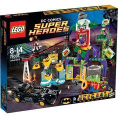 LEGO Marvel Super Heroes, 76035, Jokerland - Leksaker