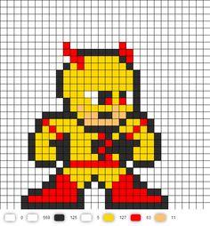 Professor Zoom  Perler Bead Pattern