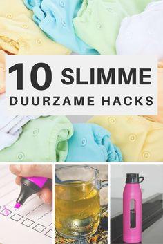 10 handige duurzame hacks, oftewel 10 slimme producten die duurzaam leven een stuk eenvoudiger maken. Van Awkward Duckling. Good Vibe, Lets Do It, Green Life, Zero Waste, Less Is More, Sustainable Living, Awkward, Lifehacks, Budgeting