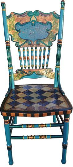 whimsical painted furniture | Whimsical Hand Painted Art Furniture | Nancy…