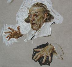 Norman Rockwell Sketchbook | ... Post Long before Norman Rockwell. Rockwell's hero as a matter of fact