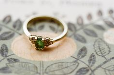 engagement ring  Beautiful!! I love the idea of color in the wedding band.