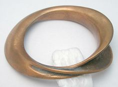 Asymmetry Copper Bracelet - Garden Party Collection Vintage Jewelry