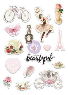 Prima Marketing - Love Story Puffy Stickers now available at The Rubber Buggy Journal Stickers, Scrapbook Stickers, Planner Stickers, Paper Bag Scrapbook, Making Love, Card Making, Planners, Beautiful Love Stories, Origami