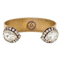Loren Hope Large Sarra Cuff in Crystal - Item 19364231   Jewelers Wife $78