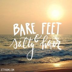 Summer quotes to live by! Sunset Beach, Ocean Beach, Beach Bum, City Beach, Beach Walk, Ocean Quotes, Beach Quotes And Sayings, Beach Life Quotes, Island Quotes
