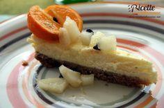 Cheesecake con composta di mandarini e pere (philadelphia, panna) COTTA